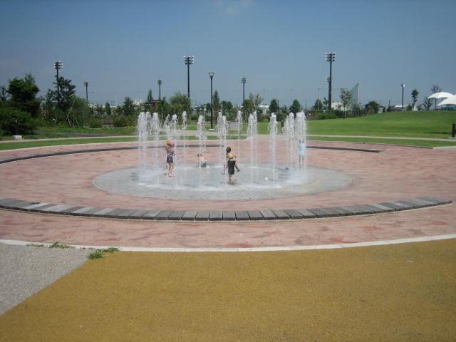 北部公園案内(噴水広場)